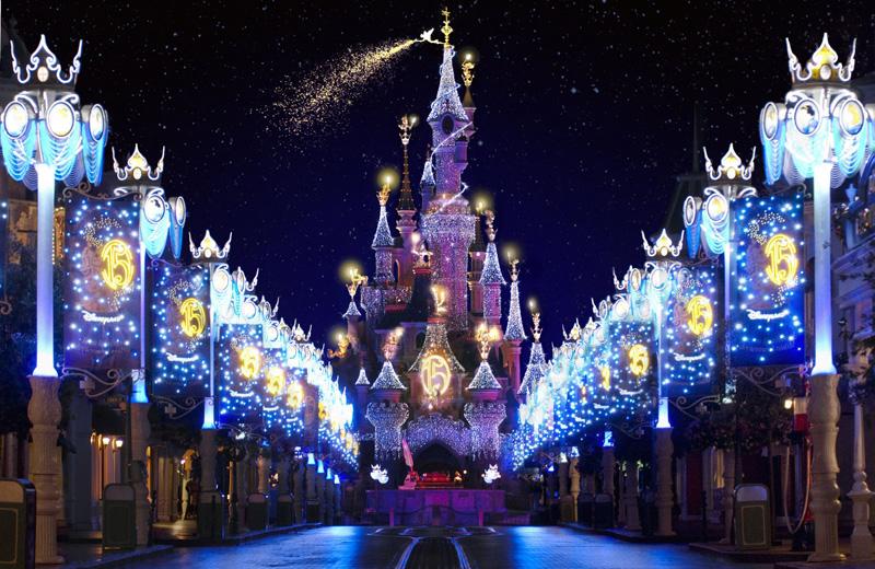 Año nuevo en Disneyland Paris